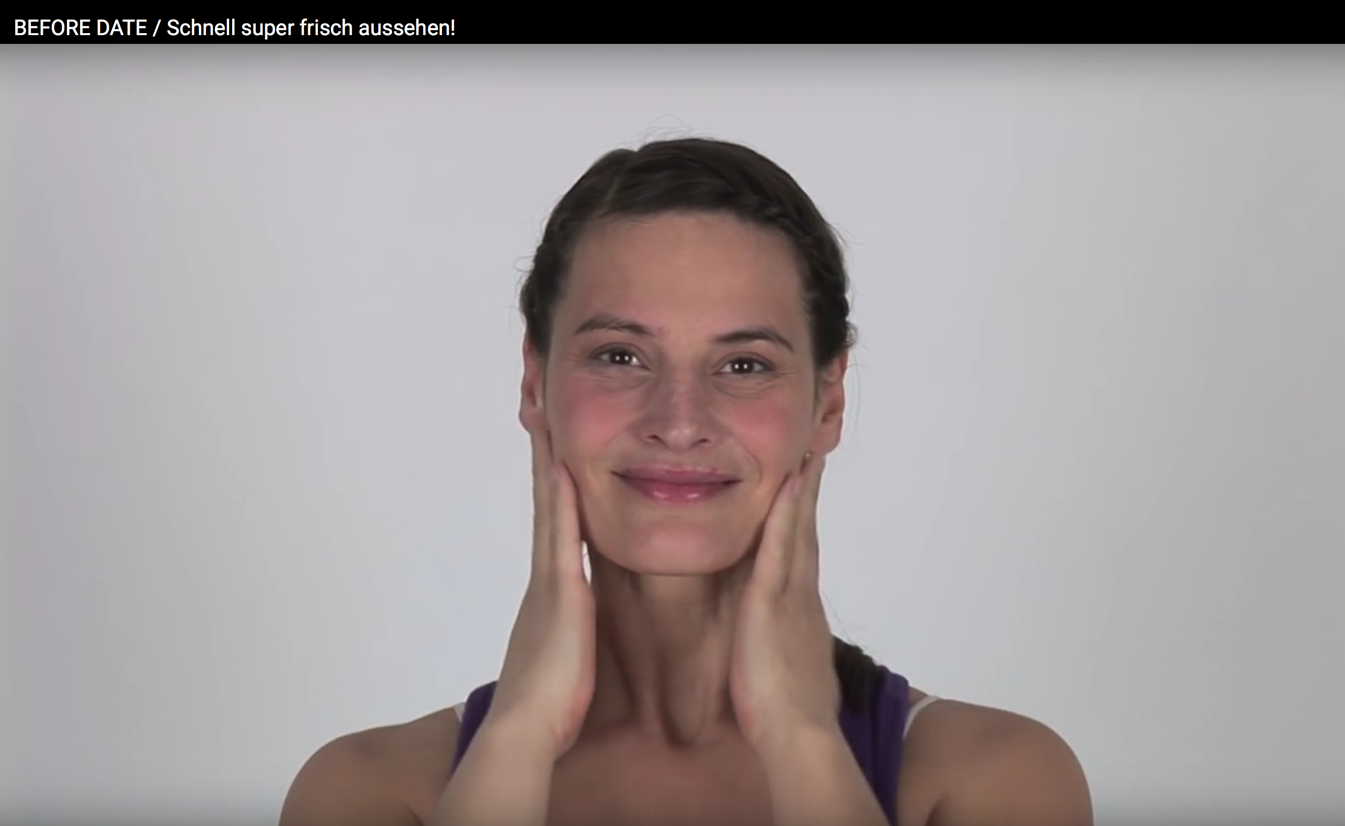 It's Friday night, girls! GET THE GLOW, hopp hopp! Face Yoga mit Patricia.