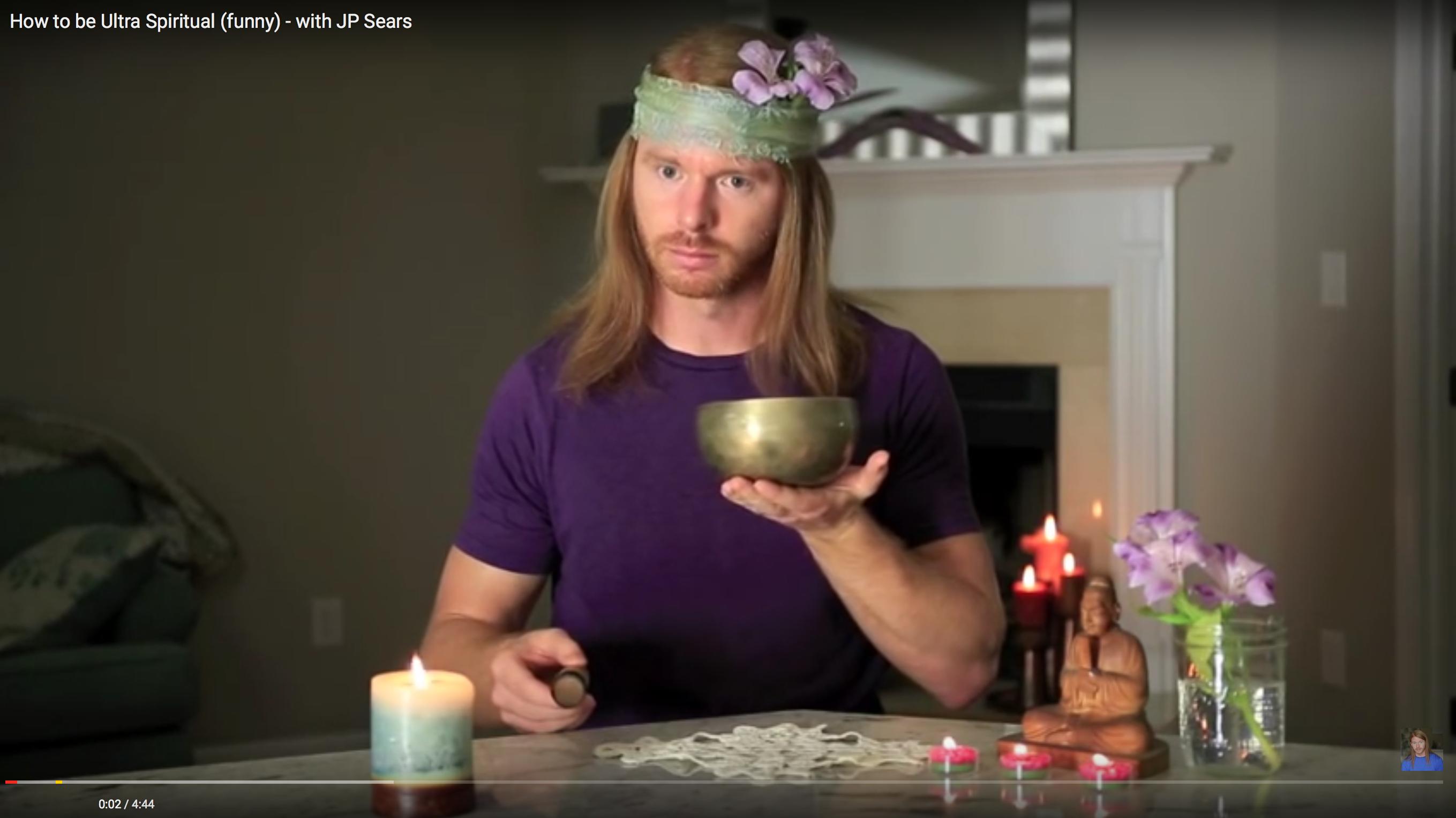 """Sei doch mal """"Ultra Spiritual"""" – Dank JP Sears"""